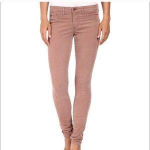 AG • The legging supper skinny corduroy pants